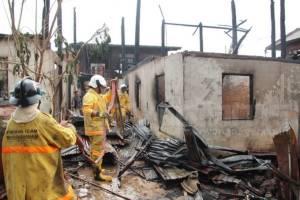 เพลิงไหม้บ้านท้องที่กันทรวิชัยวอดกว่า 3 หลังคาเรือน