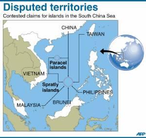 """ระทึก! ภาพดาวเทียมชี้ """"จีน"""" ส่งระบบขีปนาวุธพื้นดินสู่อากาศติดตั้งบน """"เกาะวูดดี้"""" ในทะเลจีนใต้"""
