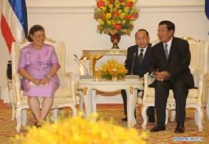 สมเด็จพระเทพฯ เสด็จเยือนกัมพูชา เชื่อมสัมพันธไมตรี