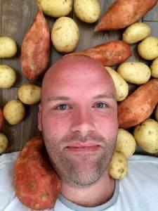 Spud-only diet a mash hit for Australia's Mr Potato Head