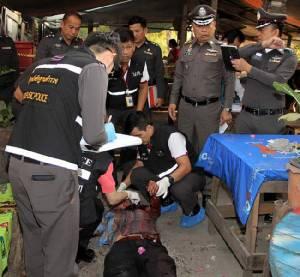 โหด! ช่างรถไฟธนบุรีถูกแทงตายในร้านก๋วยเตี๋ยว คาดวิวาทในวงเหล้า-ฆ่าชิงทรัพย์