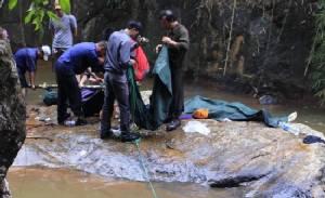 Three British tourists swept down Vietnam waterfall to death: state media