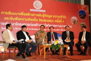 ก.คมนาคมเปิดเวทีโคราชรับฟังความเห็น เดินหน้าสร้างรถไฟเร็วปานกลางไทย-จีน