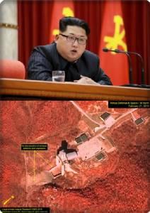 "In Pics แฉภาพดาวเทียม:  ""คิม จอง อึน"" สั่งกองทัพเกาหลีเหนือพร้อมรบ ใช้อาวุธนิวเคลียร์ได้ทุกเมื่อ"