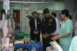 ทหารเร่งนำน้ำดิบสะอาดช่วยเหลือแผนกฟอกไตโรงพยาบาลศูนย์เจ้าพระยาฯ