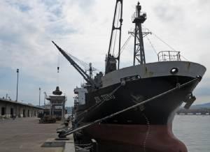 """ฟิลิปปินส์ยึดเรือสินค้าเกาหลีเหนือที่ """"อ่าวซูบิก"""" ตามมติคว่ำบาตร UN"""