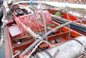 พบรอยก๊าซรั่วช่วงท้าย เรือโดยสารระเบิดกลางคลองแสนแสบ (มีคลิป)