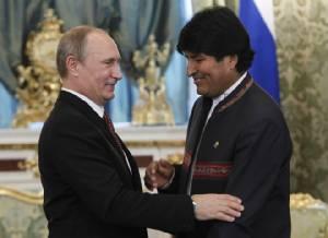 โบลิเวียจับมือรัสเซียบรรลุข้อตกลงร่วมมือพัฒนานิวเคลียร์