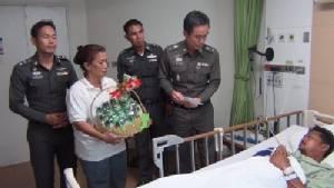 ตร.หนองขามรับผิดชอบผู้บาดเจ็บที่พลาดถูกกระสุนปืนตำรวจแล้ว