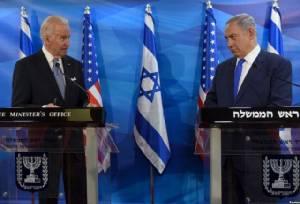 """""""โจ ไบเดน"""" รอง ปธน.US ชี้การขยายนิคมชาวยิวบดบังโอกาสสร้างสันติภาพอิสราเอล-ปาเลสไตน์"""