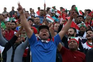 """เต็มอิ่มภาพชุด """"ช้างศึก"""" บดเสมอ """"อิรัก"""" 2-2 ลิ่วรอบ 12 ทีมคัดเลือกบอลโลก"""