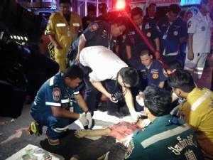 หดหู่ใจ พลเมืองดีฝ่าฝนช่วยสาวรถเสีย กลับถูกแท็กซี่ชนตกสะพานดับ