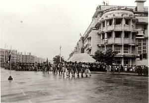 เสรีไทย ขบวนการรับใช้ชาติ สวนสนามอย่างผู้ชนะ ขณะที่แพ้สงคราม!!!