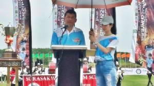 รองผู้ว่าฯ ชลบุรีเปิดฉากฟุตบอลอุตสาหกรรมคัพ ครั้งที่ 6