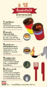 5 วิธี ฟื้นพลังชีวิตให้อาหารกระป๋อง