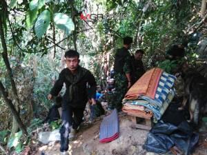 ทหารพรานสนธิกำลังบุกยึดค่ายโจรใต้ที่บุกยึด รพ.เจาะไอร้อง บนเทือกเขาตะเว