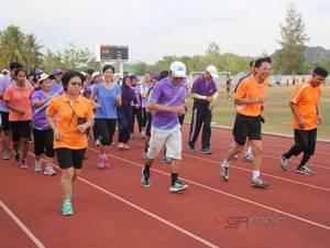 """สสจ.สตูลรับคำท้า """"วิ่ง Bogie 99 5K challenge"""" รณรงค์ส่งเสริมการมีกิจกรรมทางกาย"""