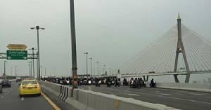 ห้าม!!! มอ'ไซค์  ขึ้นสะพานทางข้าม – ลอดอุโมงค์ ผิดที่โครงสร้างพื้นฐาน ด่า ตร. ไม่ได้?