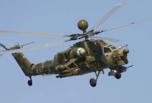 เฮลิคอปเตอร์จู่โจมของรัสเซียประสบเหตุร้ายในซีเรีย