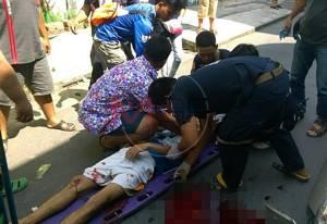 คนร้ายกระหน่ำยิงหนุ่มเมืองลุง 7 นัด บาดเจ็บสาหัส