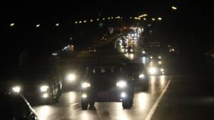 ประชาชนทยอยเดินทางเข้ากรุงเทพฯ ถนนสาย 304 ปักธงชัย-พนมสารคาม การจราจรคล่องตัว