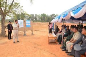 ทหารร่วมท้องถิ่นเร่งแก้วิกฤตภัยแล้งให้ชาวกุฉินารายณ์