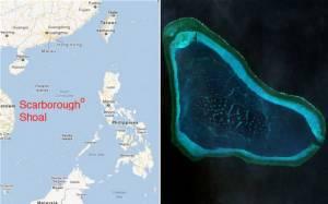 """สื่อฮ่องกงแฉ """"จีน"""" จะเริ่มก่อสร้างสาธารณูปโภคบนเกาะปะการัง """"สการ์โบโรห์"""" ภายในปีนี้"""