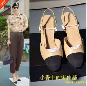 """""""ซงจุงกิ"""" เจอดรามาภาพถ่ายติดวิญญาณก่อนเจอรูปตนเองเป็นนายแบบรองเท้าส้นสูงที่จีน"""