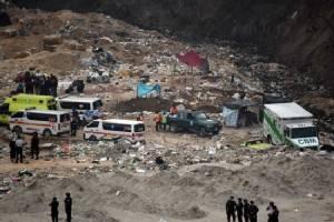 Guatemala landfill slide kills four