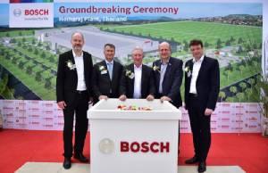 บ๊อช ออโตโมทีฟ เผยแผนสร้างรง.ผลิตหัวฉีดเชื้อเพลิงแห่งแรกในไทย