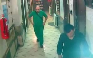 สื่อแพร่ภาพจากกล้อง CCTV วินาทีสยองทิ้งบอมบ์ใส่ รพ.ซีเรีย จงใจฆ่าหมอ-พยาบาล (ชมคลิป)