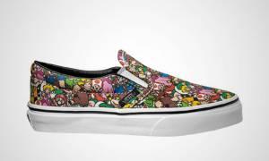 """เปิดตัวคอลเลคชันรองเท้าใหม่จาก """"Vans"""" ใช้ลวดลายเกมนินเทนโด"""