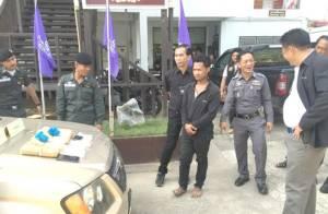 จนท.สังขละบุรีรวบเยาวชนควบกระบะซุกยาบ้า-ไอซ์ มูลค่ากว่า 7 ล้านจากชายแดนไทย-พม่า