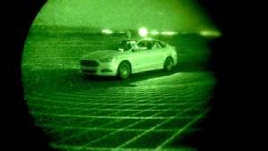 'ฟอร์ด' ทดสอบรถยนต์ขับเคลื่อนอัตโนมัติในที่มืดสนิท
