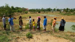 ชาวบุรีรัมย์ร้องขอฝนหลวงเติมสระน้ำที่แห้งขอดกระทบผลิตประปา-พืชไร่