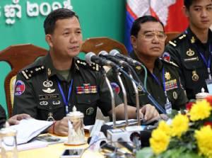 """สมเด็จฯ ฮุนเซนโต้ข่าวลือ ยัน """"ฮุนมาเนต"""" ลูกแท้ๆ มิใช่ลูกติดอดีตผู้นำเวียดนาม"""