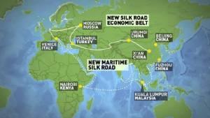 4เดือนแรกปีนี้บริษัทจีนลงทุน 4,900 ล้านดอลลาร์ในปท.'เส้นทางสายไหมใหม่'