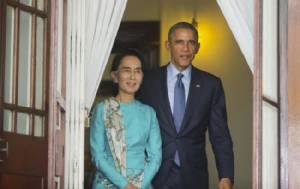 สหรัฐฯ ประกาศคลายคว่ำบาตรพม่าบางส่วนหลังรัฐบาลพลเรือนครองอำนาจ