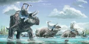 2 ไดโนเสาร์ชนิดใหม่มีเขาประหลาด
