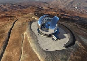 """ยุโรปทำสัญญาสร้างโดม-โครงสร้างกล้อง """"หอดูดาวยักษ์"""" กลบทุกความใหญ่"""