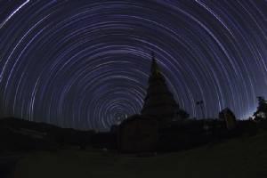 เทคนิคใหม่สำหรับภาพถ่ายเส้นแสงดาว