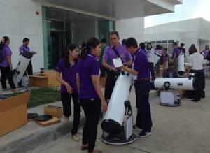 กล้องโทรทรรศน์ให้โรงเรียน ใช้ให้พัง-ซ่อมให้ฟรี