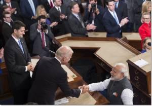 """""""นเรนทรา โมดี"""" ใช้โอกาสแถลงกลางสภาคองเกรส อ้อน """"อินเดียต้องการสัมพันธภาพทางทหารที่ลึกซึ้งจากอเมริกา"""" สู้ภัยคุกคามทุกรูปแบบ"""