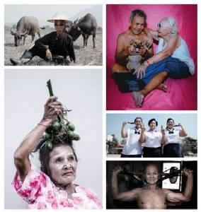 """""""10 ผู้สูงวัย"""" ใจและกายยังแจ๋ว  บันทึกไว้ในภาพถ่าย  """"สุภาพร ธรรมประโคน"""""""
