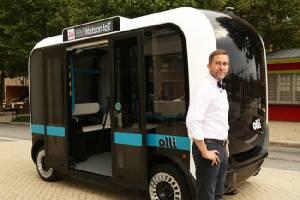 ยลโฉม Olli รถบัสขับเคลื่อนตัวเองที่คุยกับผู้โดยสารได้เพราะระบบ IBM