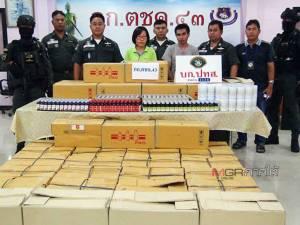 ตชด.43 จับยาแก้ไอ 7 พันขวด ยาแก้ปวดรุนแรงเกือบ 5 หมื่นเม็ดกลางเมืองหาดใหญ่