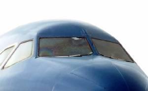 กระจกหน้าห้องนักบินร้าว แอร์บัสเวียดนามแอร์ไลน์สต้องลงจอดระหว่างทาง