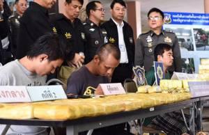 ตำรวจ ปส.จับยาเสพติด 2 คดี ยึดไอซ์ร่วม 5 กก.ยาบ้ากว่า 8 แสนเม็ด
