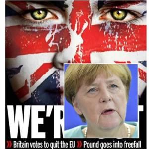 """6 ชาติก่อตั้งอียูยื่นคำขาดอังกฤษ """"เริ่มต้นกระบวนการตัดขาดสหภาพยุโรปทันที"""" หลัง BREXIT ป่วนไปทั่วโลก แต่แมร์เคิลย้ำ """"ไม่จำเป็นต้องเร่งขนาดนั้น"""""""