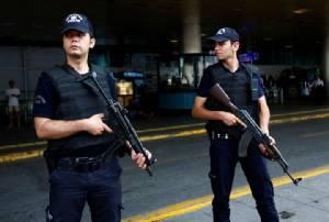 รวบสองนักรบ IS คาสนามบินอิสตันบูลของตุรกี ไม่กี่วันหลังถูกโจมตีโดยมือระเบิดฆ่าตัวตาย